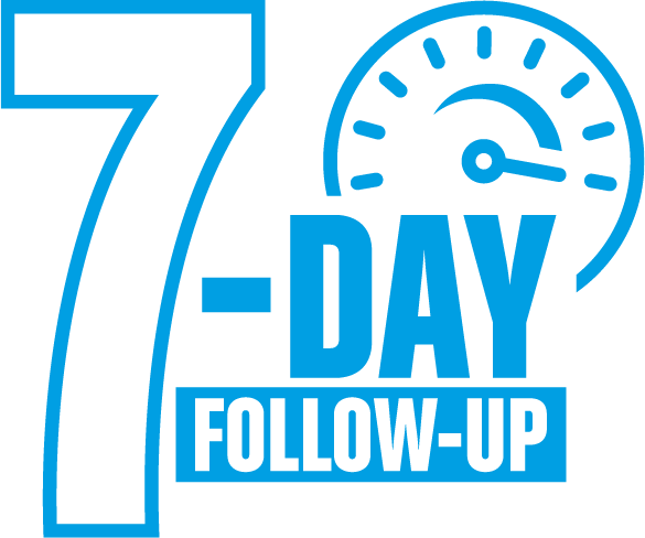 7-DAY blue logo